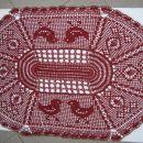 kvačkan prtiček z motivom velike noči