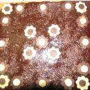Ročno narejene čokoladne rožice.
