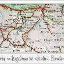 Ovo je karta iz osamdeset i neke godine, koja prikazuje Stojanovo selo sa širom okolinom.