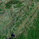 Ovo je satelitski snimak Stojanovog sela sa širom okolinom. (neću da vam kažem koje je to