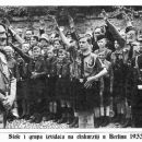 Stole Vole i grupa izviđača iz Šiljegovca na ekskurziji u Berlinu 1933. godine.