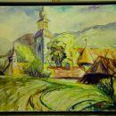 26 Oskar Sovinc V OLIMJU Akvarel, 70x50 izklicna cena: 200 €