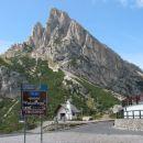 Passo falzarego, Dolomiti, I (21.9.2006)