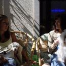 To sta moja prijateljici pudlica Aga in človekinja Nina :)