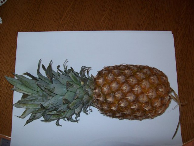 Zrel ananas