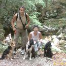 bohinj-slap savica sestra,moz in nasi trije vagabundi