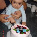 Jaz in moja tortica...njami, njami.