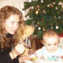 Na obisku mamina prijateljica Urška.....lepa punca....mmmmmm.