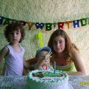 Moja sestrična, jaz in moja sestrica.