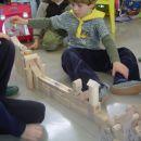 učenci so izdelali drčo za frnikule