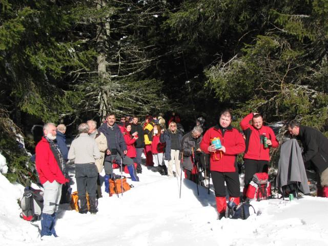 Pohod Rogla-Pesek-Osankarica-Kot (10.1.2009) - foto