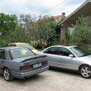 Sierra Cosworth od Aljaža in moj ex Audi