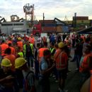 Štrajk u Luki Koper ... 29.07 ... 02.08. 2011