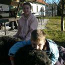 Lena z otroci