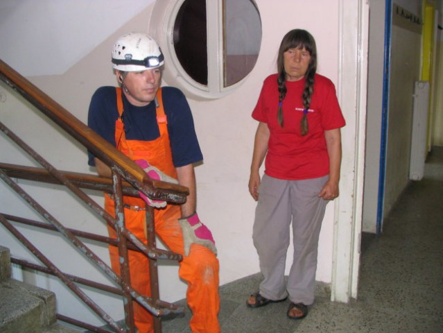 Trening v Kranju s KVRP;28.07.2007 - foto