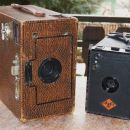 Ensign Box 2 (1920) in Agfa Box model 1 (1930-)
