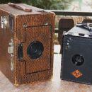 Ensign Box 2 (1920) in Agfa Box model 1 (1930-)