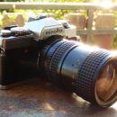 Minolta XG-2 with Osawa MC 28-80mm macro lens