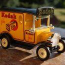 reklamni avtomobilček Kodak film