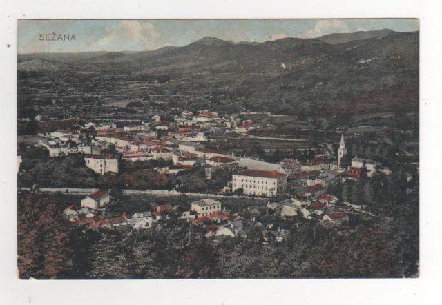 SEŽANA 1908 - 25€