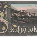 ŠKOFJA LOKA 1908, PANORAMA NA MESTO