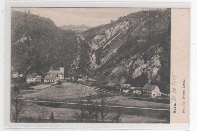 SAVA pri LITIJI 1908 - 22e