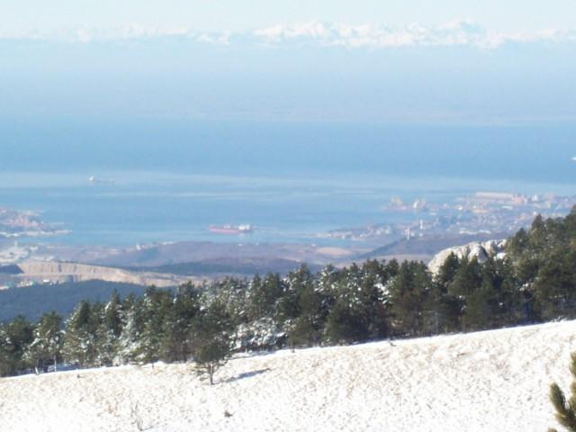 Slavnik (4.1.09) - foto