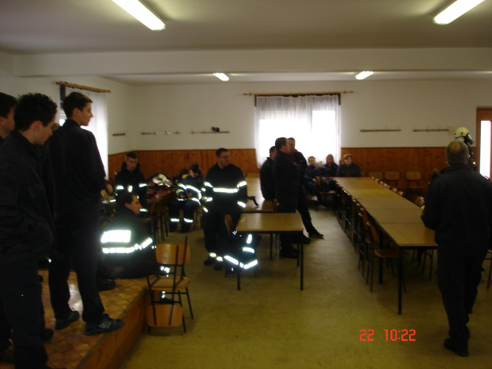 Osnovni tečaj za gasilca - foto povečava