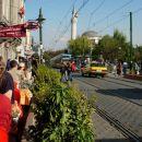 tramvaj v Istanbulu..