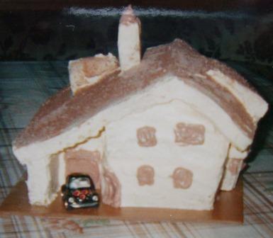 Janezu za rojstni dan(po natančnih načrtih nove hiše)