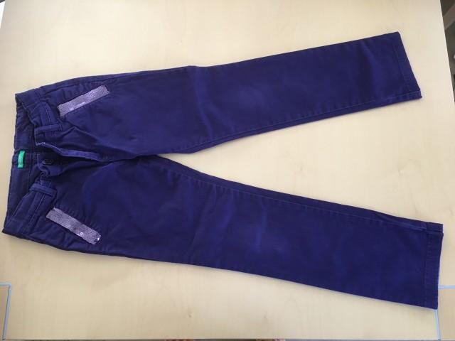 Benetton hlače 8-10 - foto