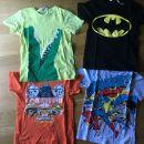 poletne majice 122-128 H&M fant