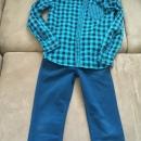 hlače srajca H&M benetton 9-10-11