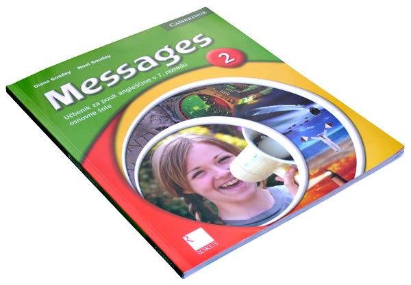 Učbenik messeges  2, 3, 4 - foto
