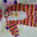 pustni kostum metulj