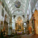 Notranjost cerkve sv. Petra
