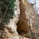 Vhod v Puščavnikovo jamo (zgornja jama)