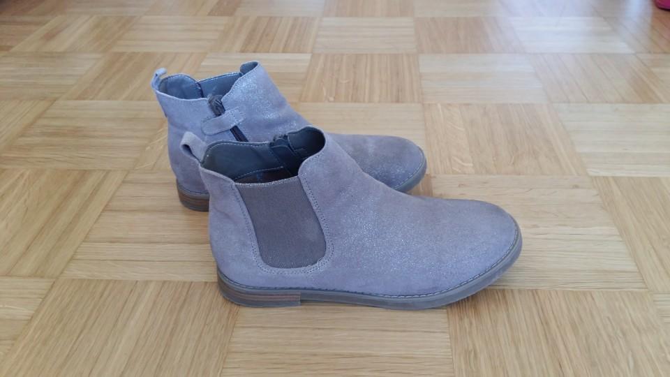 Okaidi usnjeni čevlji / gležnarji, 36