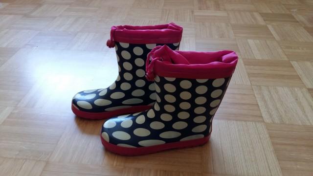 Dežni gumijasti škornji; 36