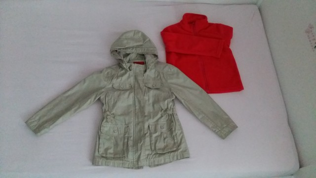 Prehodna jakna 3v1; 122 - foto