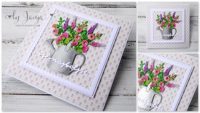 Voščilnice s cvetjem - foto