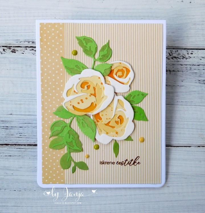Voščilnice s cvetjem - foto povečava
