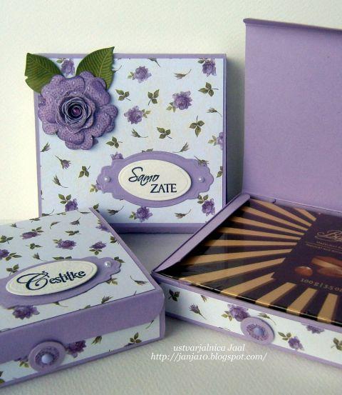 Darilne škatle / čokoladnice  - foto