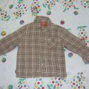 srajčka qutfit v 86-92 cena 3 eur oblečena par krat flanela