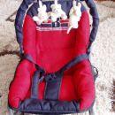 otroški ležalnik ali gugalnik baby welt