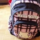 dekliška šolska torba HELLO KITTY na kolesih