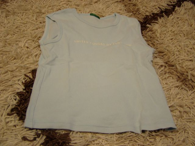Dekliška benetton kratka majica 120 6 let - foto