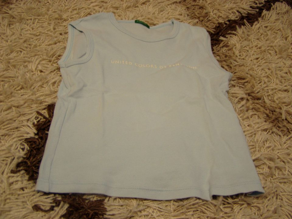 Dekliška benetton kratka majica 120 6 let - foto povečava