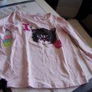 dekliška dolga majica 122-128 NOVO!