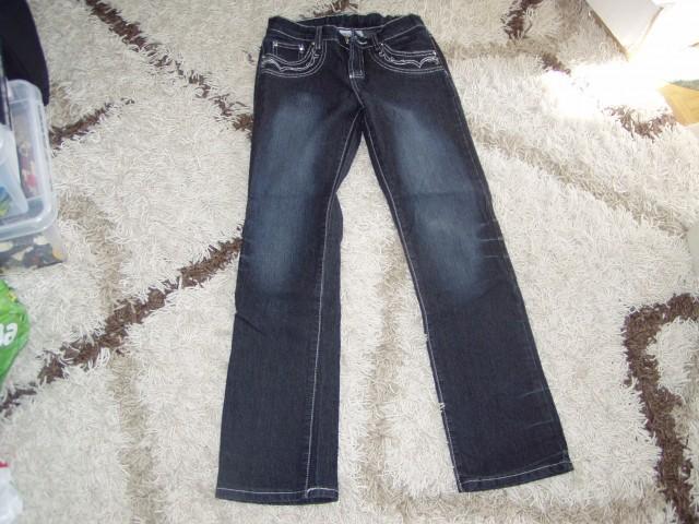 Dekliške jeans hlače št.12  - foto